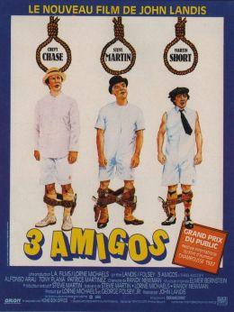 "Постер к фильму ""Три амигос!"" /¡Three Amigos!/ (1986)"