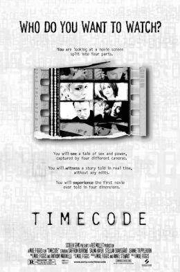 "Постер к фильму ""Тайм-код"" /Timecode/ (2000)"