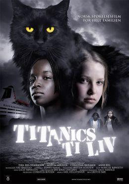 """Постер к фильму """"Десять жизней кота Титаника"""" /Titanics ti liv/ (2007)"""