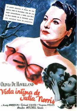 "Постер к фильму ""Каждому свое"" /To Each His Own/ (1946)"