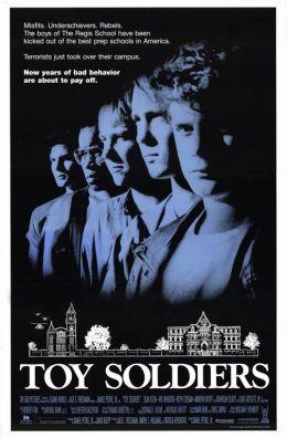"""Постер к фильму """"Игрушечные солдатики"""" /Toy Soldiers/ (1991)"""