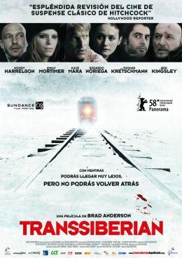 """Постер к фильму """"Транссибирский экспресс"""" /Transsiberian/ (2008)"""