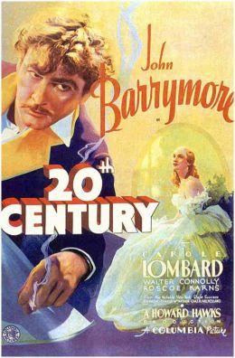 """Постер к фильму """"Двадцатый век"""" /Twentieth Century/ (1934)"""