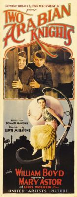 "Постер к фильму ""Два аравийских рыцаря"" /Two Arabian Knights/ (1926)"