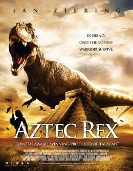 """Постер к фильму """"Тиранозавр ацтеков"""" /Tyrannosaurus Azteca/ (2007)"""
