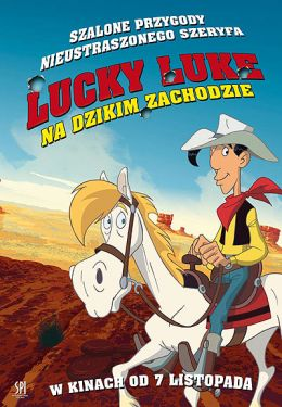 "Постер к фильму ""Путешествие на запад"" /Tous a l'Ouest: Une aventure de Lucky Luke/ (2007)"