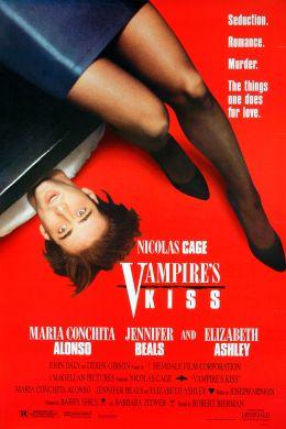"""Постер к фильму """"Поцелуй вампира"""" /Vampire's Kiss/ (1988)"""