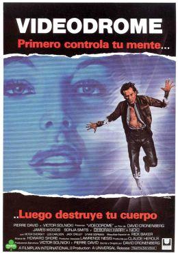 "Постер к фильму ""Видеодром"" /Videodrome/ (1983)"