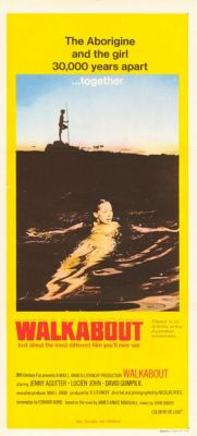 "Постер к фильму ""Обход"" /Walkabout/ (1971)"