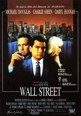 """Постер к фильму """"Уолл-стрит"""" /Wall Street/ (1987)"""