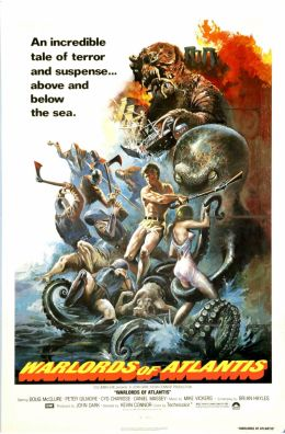 "Постер к фильму ""Вожди Атлантиды"" /Warlords of the Deep/ (1978)"