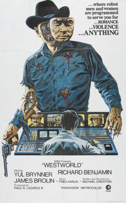 "Постер к фильму ""Мир Дикого Запада"" /Westworld/ (1973)"