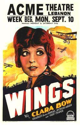 """Постер к фильму """"Крылья"""" /Wings/ (1927)"""