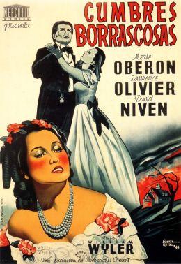 """Постер к фильму """"Грозовой перевал"""" /Wuthering Heights/ (1939)"""