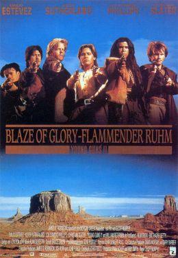 """Постер к фильму """"Молодые стрелки II"""" /Young Guns II/ (1990)"""