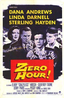 """Постер к фильму """"Час Зеро!"""" /Zero Hour!/ (1957)"""