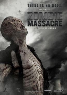 """Постер к фильму """"Резня зомби"""" /Zombie Massacre/ (2013)"""