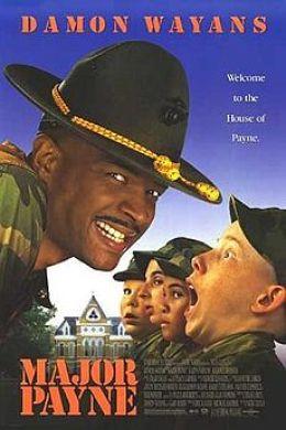"Постер к фильму ""Майор Пэйн"" /Major Payne/ (1995)"