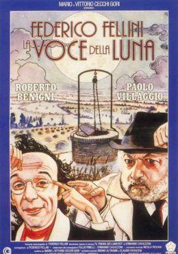"""Постер к фильму """"Голос Луны"""" /Die Stimme des Mondes/ (1990)"""