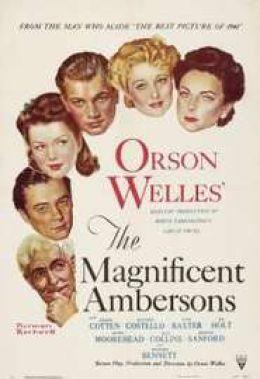 """Постер к фильму """"Великолепие Амберсонов"""" /The Magnificent Ambersons/ (1942)"""
