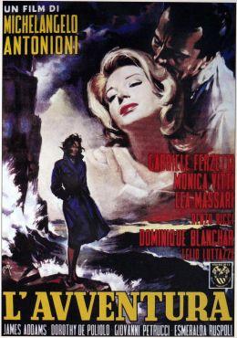 """Постер к фильму """"Приключение"""" /L'avventura/ (1960)"""