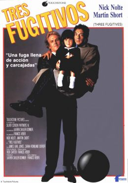 "Постер к фильму ""Три беглеца"" /Three Fugitives/ (1989)"