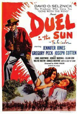 "Постер к фильму ""Дуэль под солнцем"" /Duel in the Sun/ (1946)"
