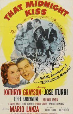 """Постер к фильму """"Полуночный поцелуй"""" /That Midnight Kiss/ (1949)"""