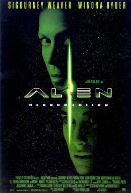 """Постер к фильму """"Чужой 4: Воскрешение"""" /Alien: Resurrection/ (1997)"""