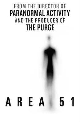 """Постер к фильму """"Зона 51"""" /Area 51/ (2015)"""