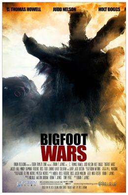 """Постер к фильму """"Bigfoot Wars"""" /Bigfoot Wars/ (2014)"""