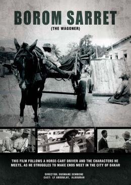 """Постер к фильму """"Человек с тележкой"""" /Borom sarret/ (1962)"""