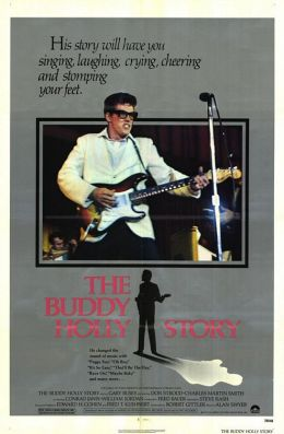 "Постер к фильму ""История Бадди Холли"" /The Buddy Holly Story/ (1978)"