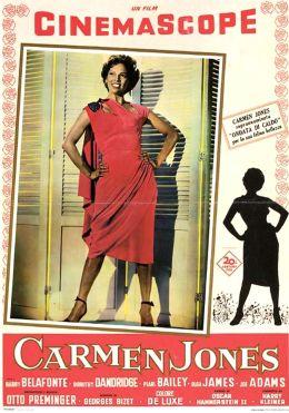 """Постер к фильму """"Кармен Джонс"""" /Carmen Jones/ (1954)"""