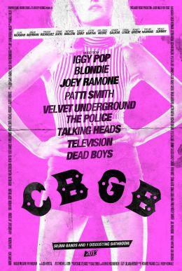 """Постер к фильму """"CBGB"""" /CBGB/ (2013)"""