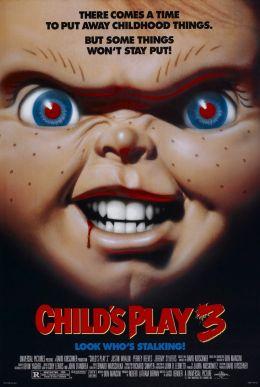 """Постер к фильму """"Детская игра 3"""" /Child's Play 3/ (1991)"""