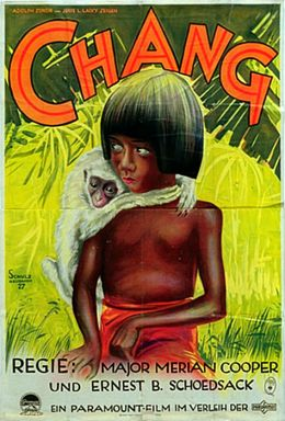 "Постер к фильму ""Чанг: Драма в глуши"" /Chang: A Drama of the Wilderness/ (1926)"