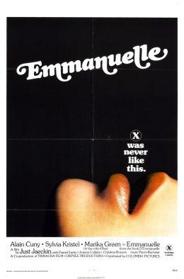 """Постер к фильму """"Эммануэль"""" /Emmanuelle/ (1974)"""