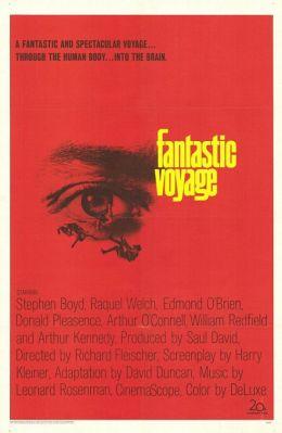 """Постер к фильму """"Фантастическое путешествие"""" /Fantastic Voyage/ (1966)"""