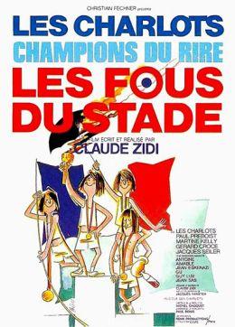 """Постер к фильму """"Сумасшедшие на стадионе"""" /Les fous du stade/ (1972)"""