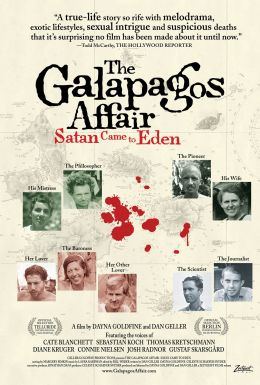 """Постер к фильму """"Галапагосское дело"""" /The Galapagos Affair: Satan Came to Eden/ (2013)"""