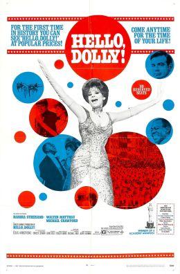 "Постер к фильму ""Хелло, Долли!"" /Hello, Dolly!/ (1969)"