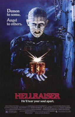 """Постер к фильму """"Восставший из ада"""" /Hellraiser/ (1987)"""