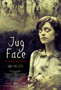 """Постер к фильму """"Жертвенный лик"""" /Jug Face/ (2013)"""