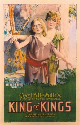 """Постер к фильму """"Царь царей"""" /The King of Kings/ (1927)"""