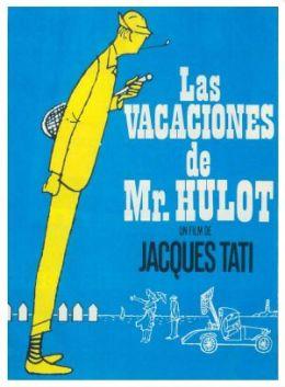 """Постер к фильму """"Каникулы господина Юло"""" /Les vacances de Monsieur Hulot/ (1953)"""