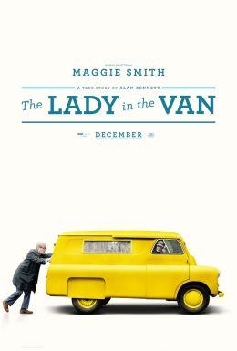 """Постер к фильму """"Леди в фургоне"""" /The Lady in the Van/ (2015)"""
