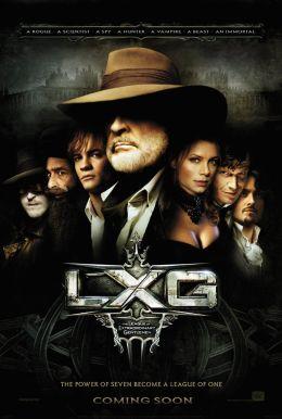 """Постер к фильму """"Лига выдающихся джентльменов"""" /The League of Extraordinary Gentlemen/ (2003)"""