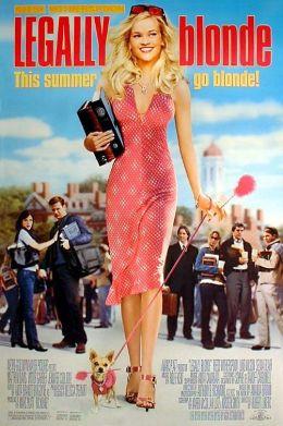 """Постер к фильму """"Блондинка в законе"""" /Legally Blonde/ (2001)"""