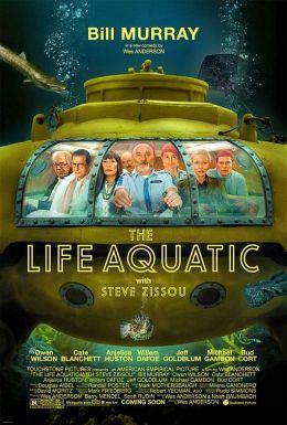"""Постер к фильму """"Водная жизнь"""" /The Life Aquatic with Steve Zissou/ (2004)"""